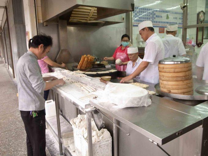 永和豆漿大王の店頭写真