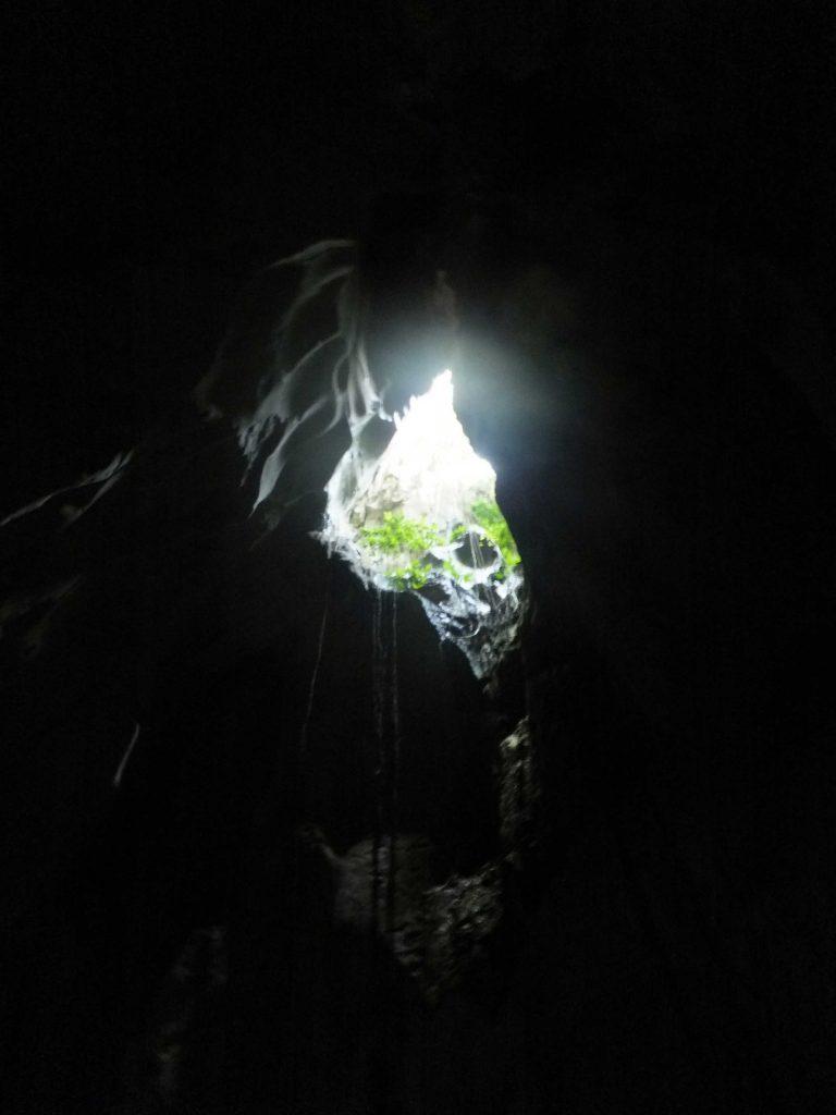 ギガンテス島の洞窟の写真