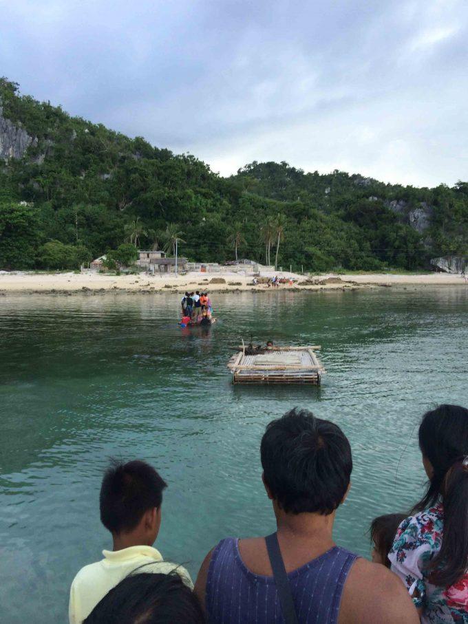 ギガンテス島上陸の写真