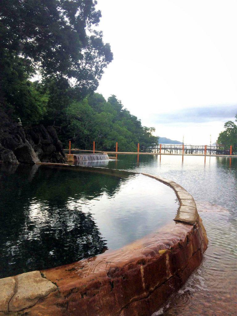 コロンタウンから行けるマキニット温泉の写真
