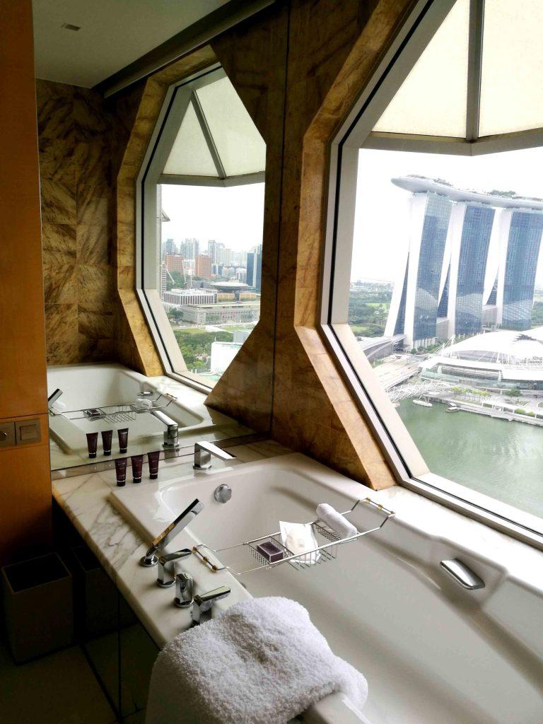シンガポール リッツ・カールトン バスルーム