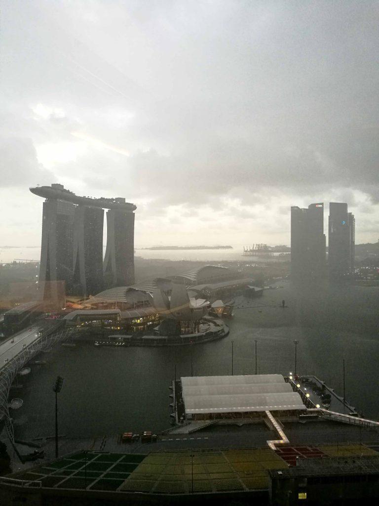 シンガポール リッツ・カールトン 眺め