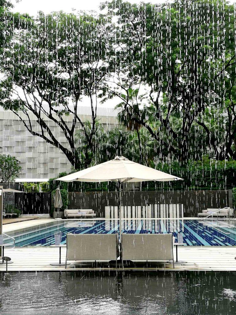 シンガポール リッツ・カールトン プール