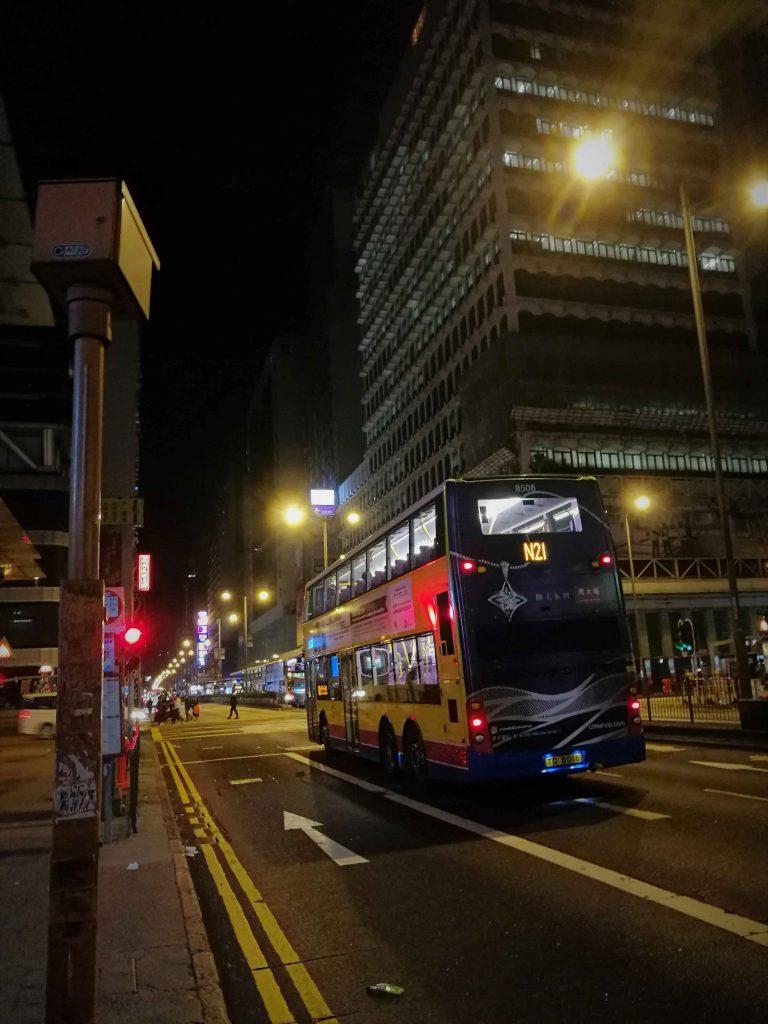 香港 夜の旺角