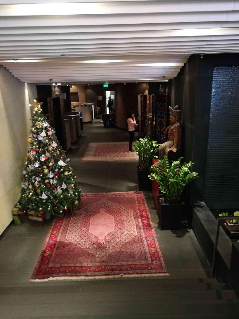 香港空港プラザプレミアムラウンジ(到着ホール)入り口