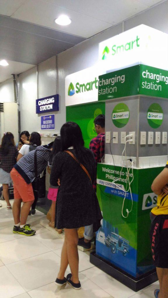 マニラ国際空港ターミナル4充電