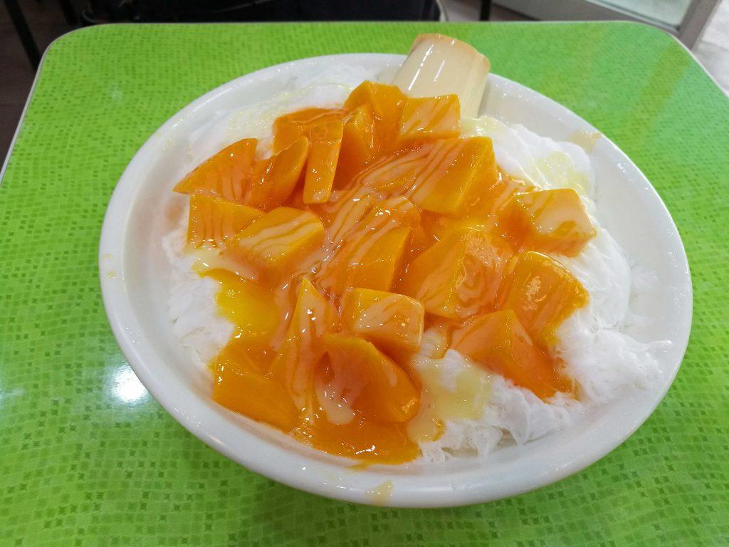 冰讃(ピンザン)のマンゴーかき氷