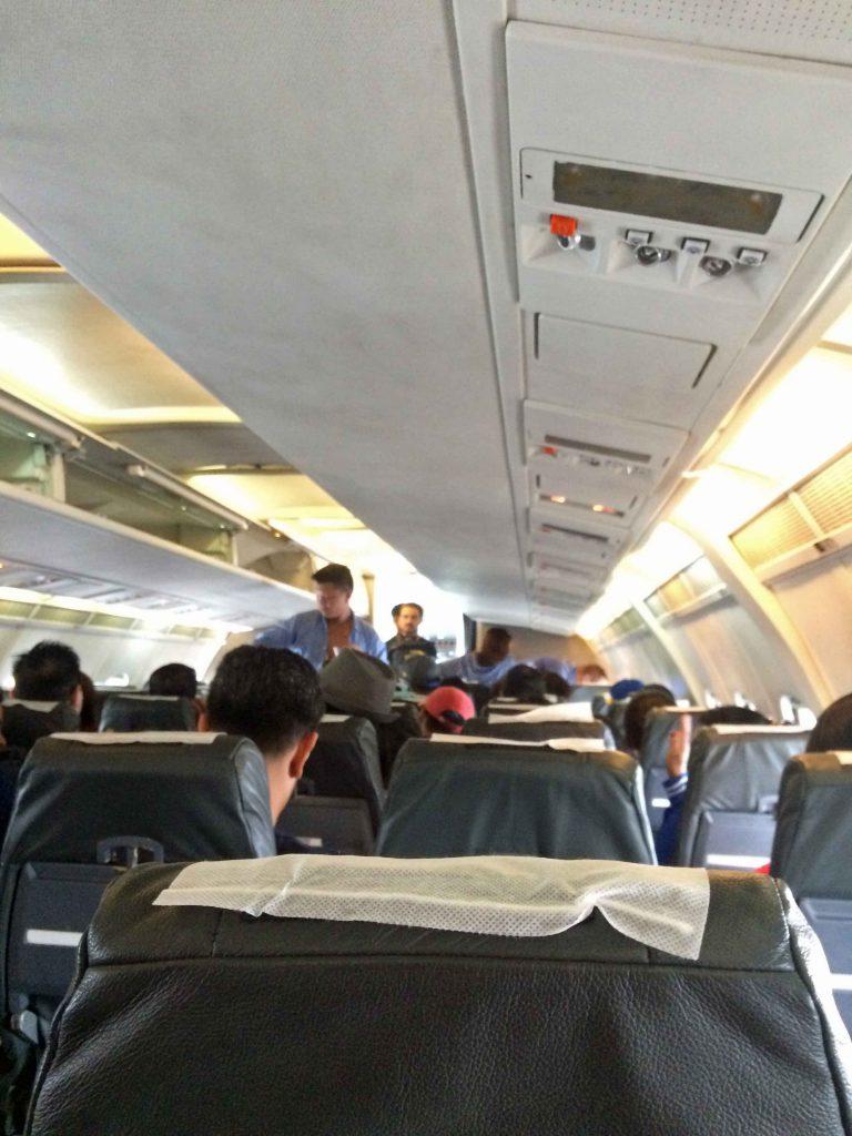 JetSky(ジェットスカイ)機内