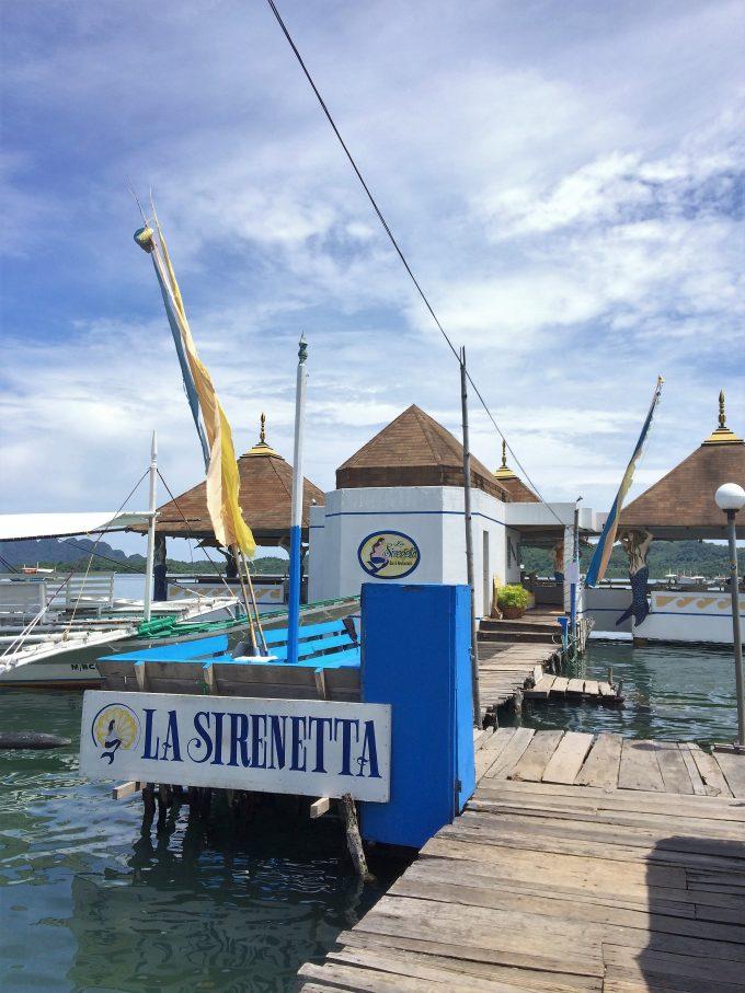 La Sirenetta Restaurant & Barの入り口写真