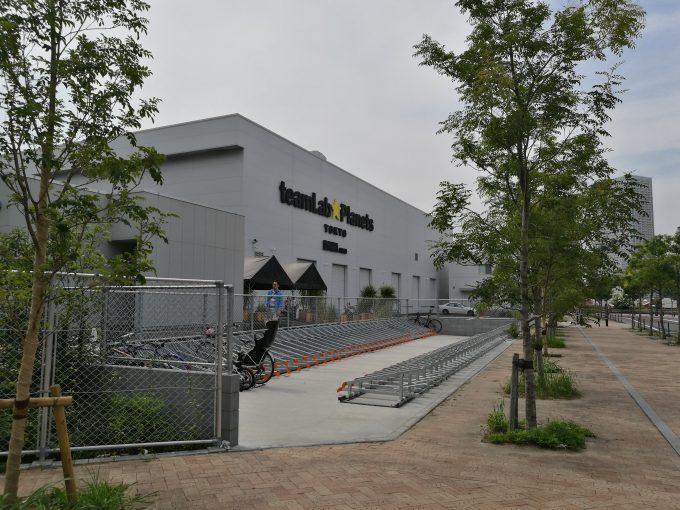 チームラボプラネッツ豊洲駐輪場の写真