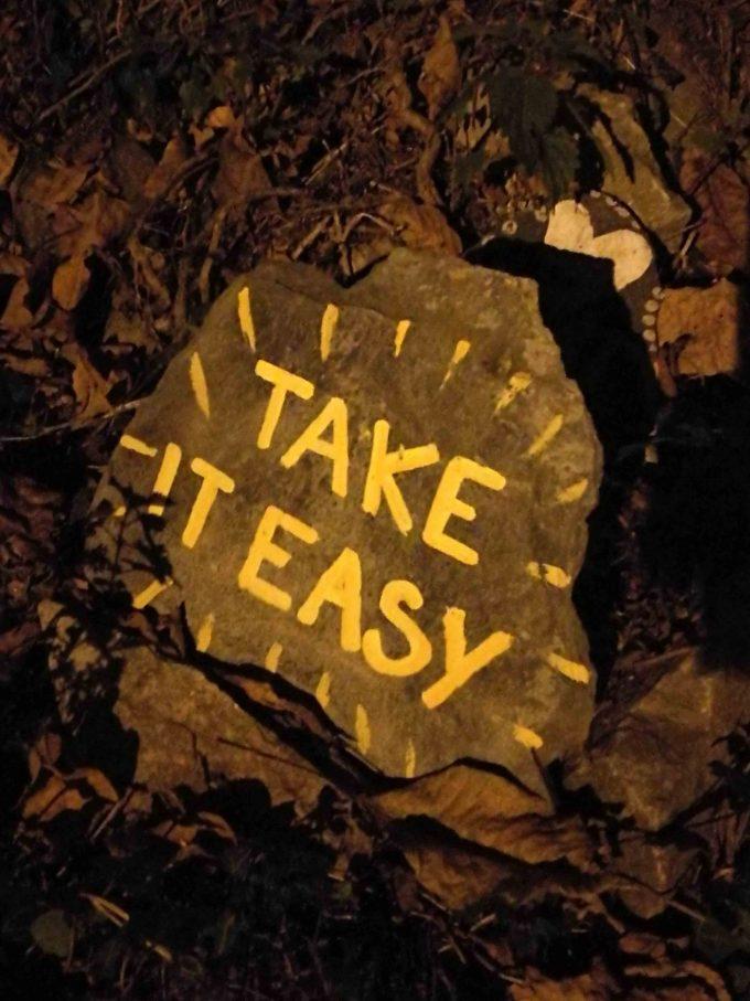 サンティアゴ巡礼のTake it easyの写真