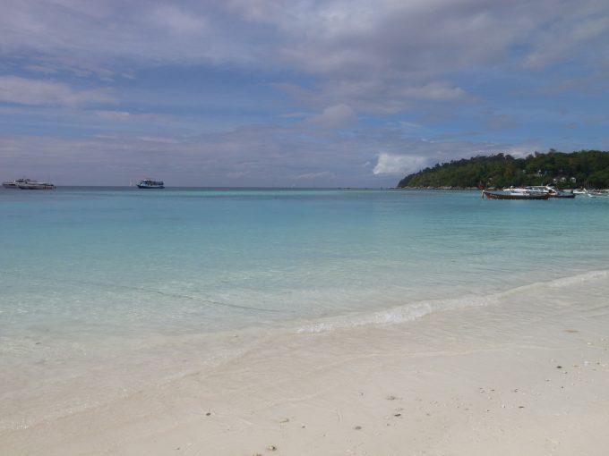 リぺ島のビーチの写真