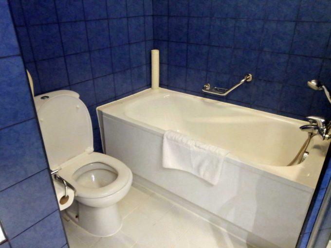 モーベンピックホテルマクタンアイランドセブのバスルームの写真