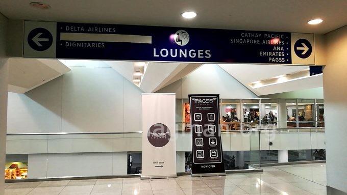 マニラ第3ターミナルのラウンジまでの写真
