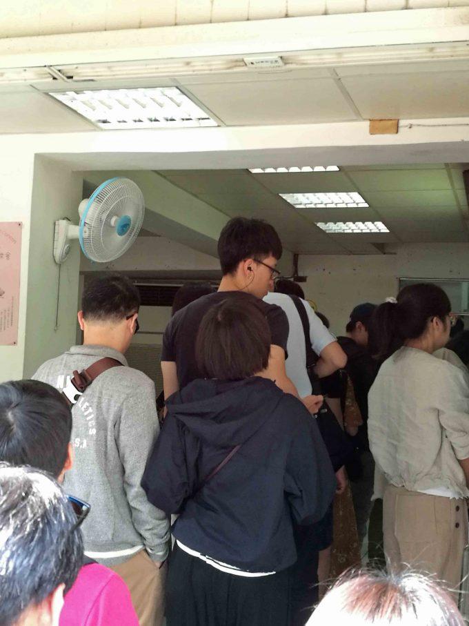 鼎元豆漿の店内の写真
