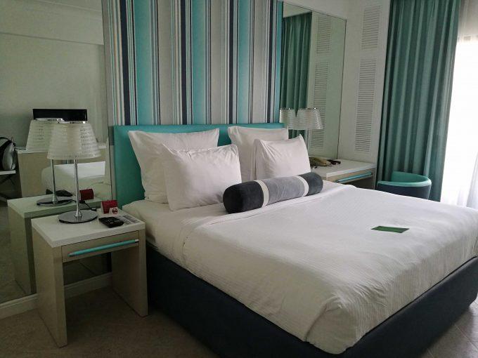 モーベンピックホテルマクタンアイランドセブの部屋の写真