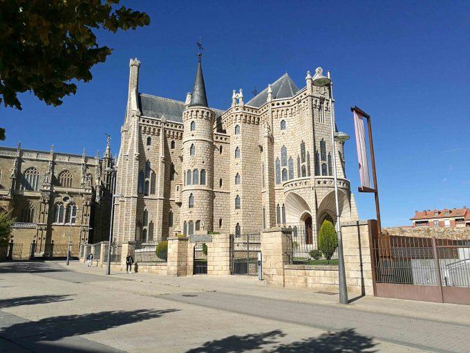 アストルーガの司教館の写真