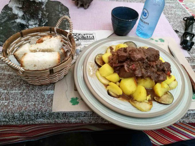 フォンセバドンのジビエ料理の写真