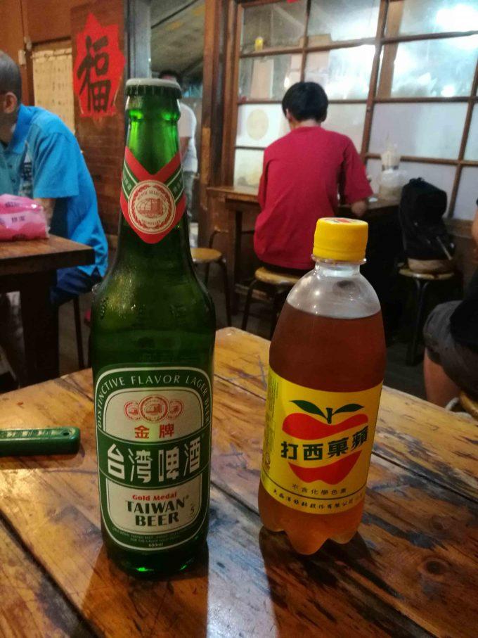 龍門客桟餃子館のドリンクの写真