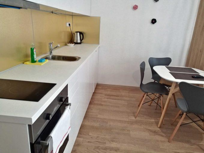 プラハ新市街のエアービーアンドビーの部屋の写真