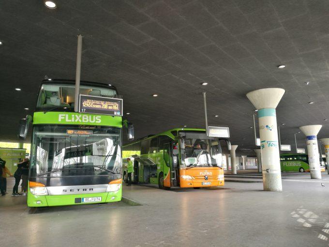 ミュンヘン中央バスターミナルの写真
