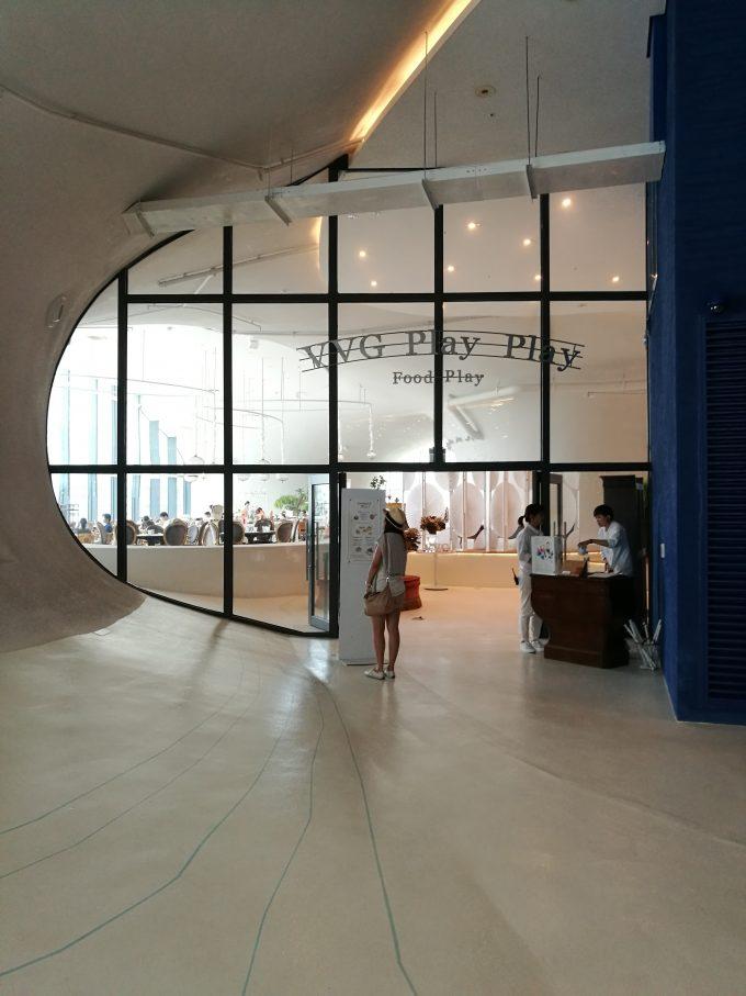 台中国家歌劇院の内部の写真