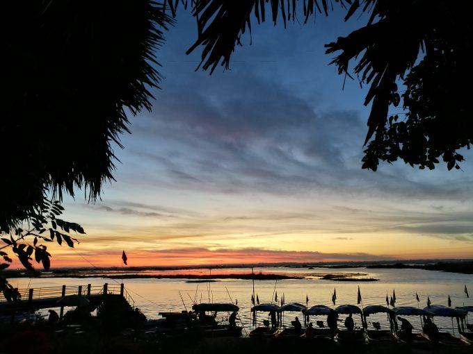 タレーブアデーンのボート乗り場の写真