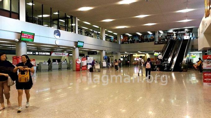 ウドンタニ空港のラウンジの写真