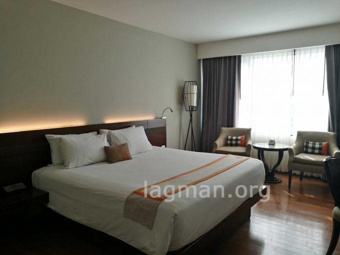 センタラホテルの部屋の写真