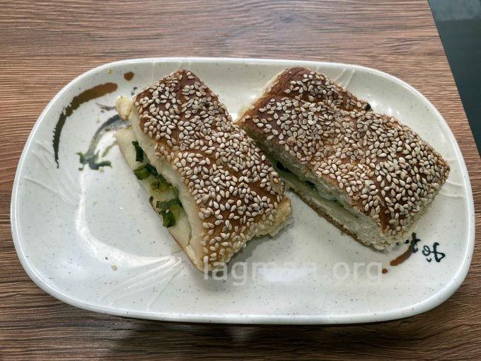 秦小姐豆漿店の葱花餅の写真