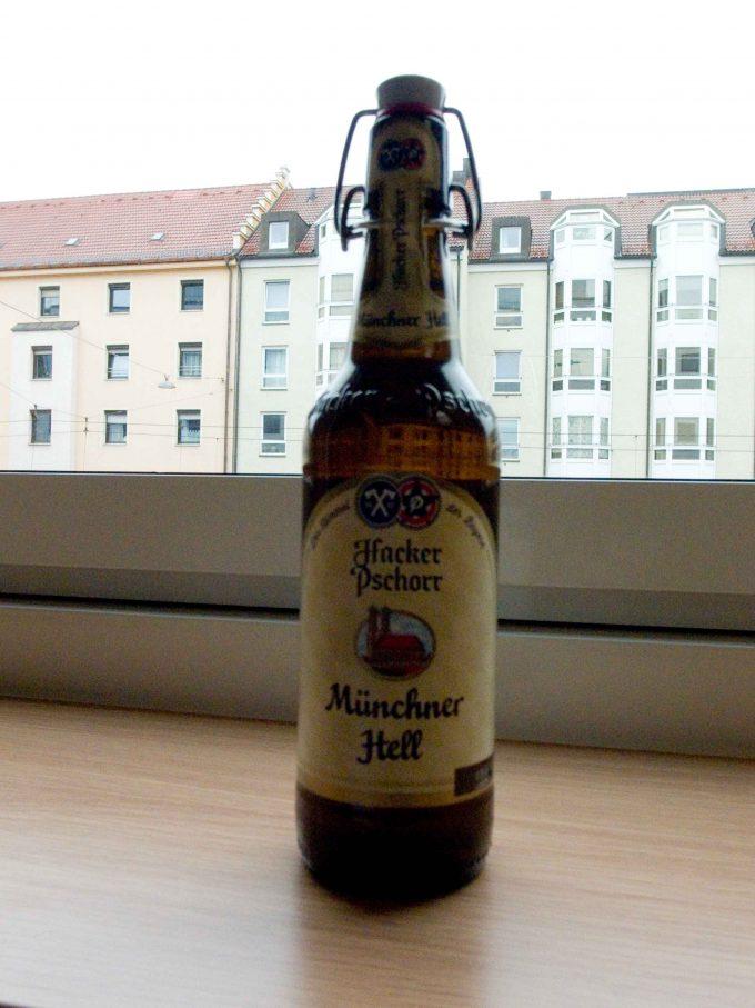 ハッカープショールのミュンヘナーヘレの写真