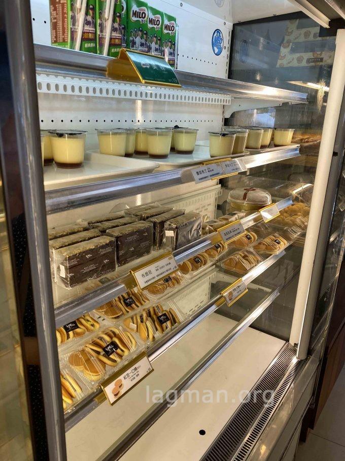 米塔の店内のお菓子の写真