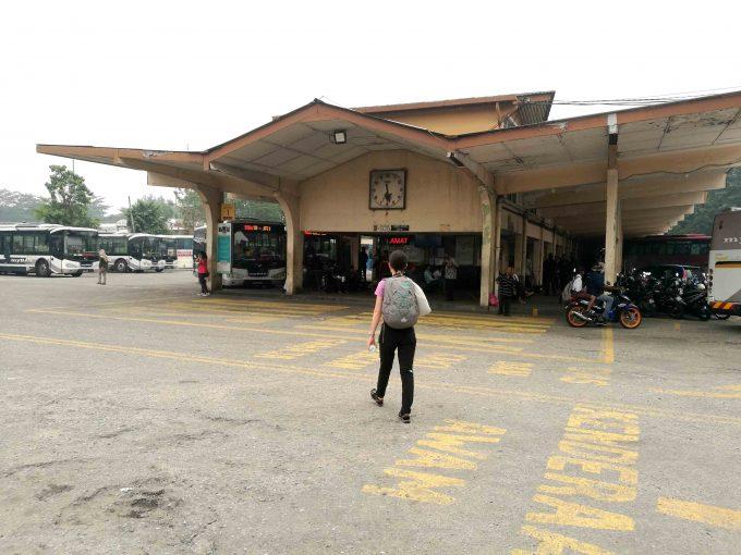 イポーのバスステーションの写真