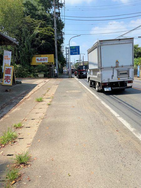 大町梨街道の写真